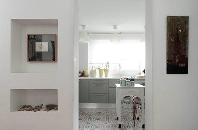 puerta del salón hacia cocina