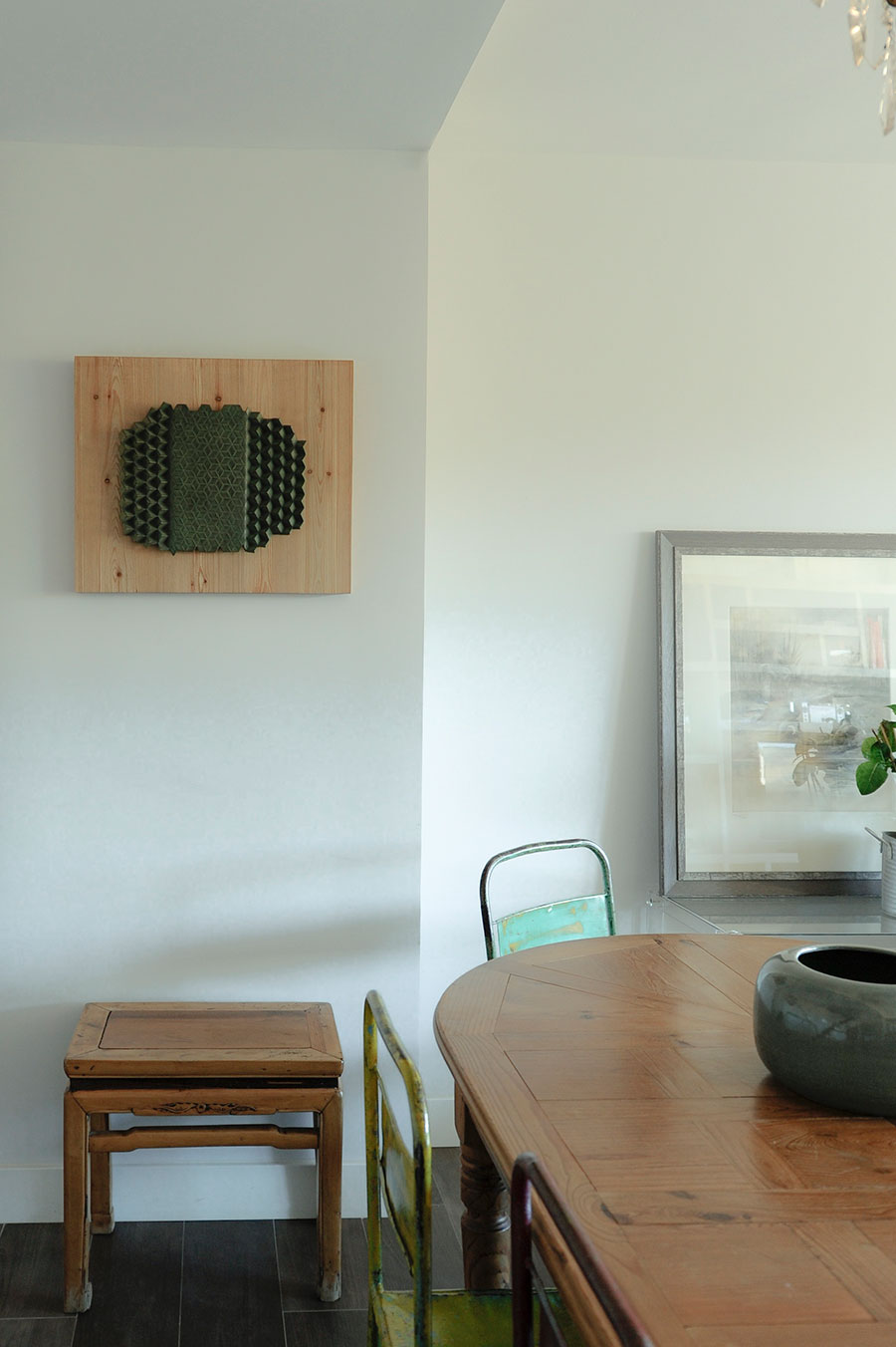 mesa y cuadro